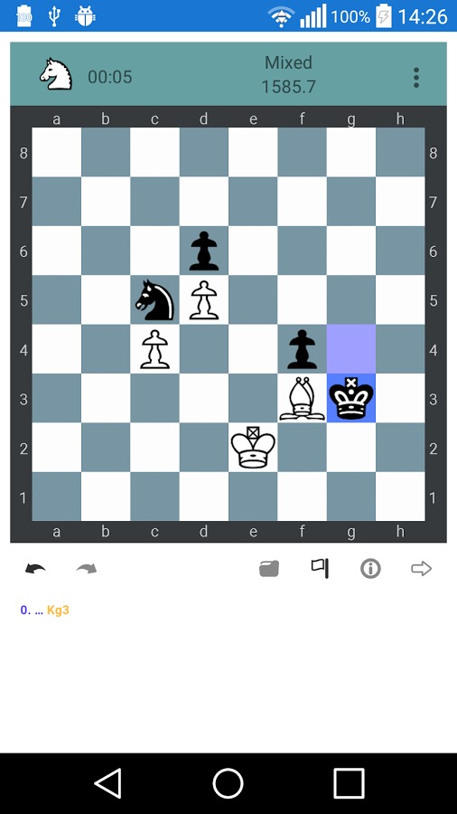 Unofficial Chesstempo Android app